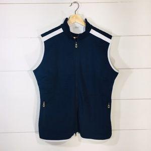 NIKE GOLF Navy Blue Vest Women's XL 16 18 EUC